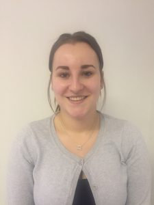 Jessica Richardson, a Therapy Support Worker for the East Midlands