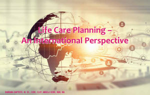 ife Care Planning- An International Perspective