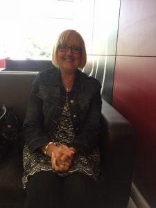 June Godbehere, a Support Worker in the East Midlands