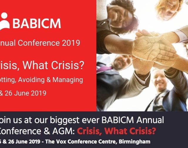 Aka exhibiting at babicm conference 2019